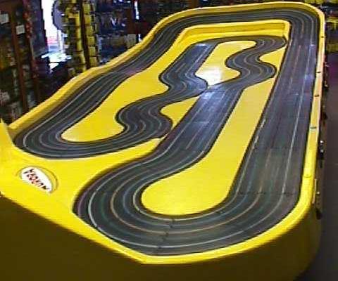 Car Track: Tyco Slot Car Track Plans on