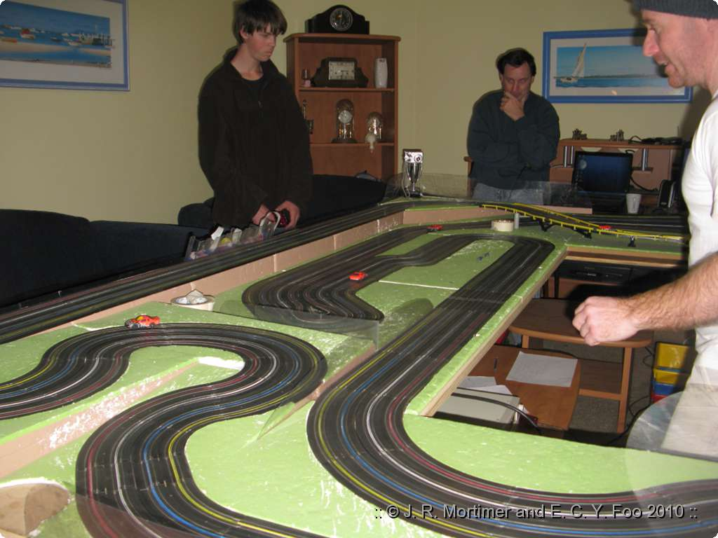 what is slot car racing